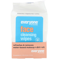 Everyone, Face, Cleansing Wipes, 30 Towelettes