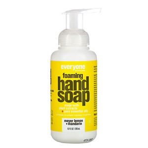 евриван, Foaming Hand Soap, Meyer Lemon + Mandarin, 10 fl oz (296 ml) отзывы