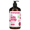 Everyone, 3 In 1 Kids Soap, Body Wash, Bubble Bath, Shampoo, Berry Blast, 32 fl oz (946 ml)