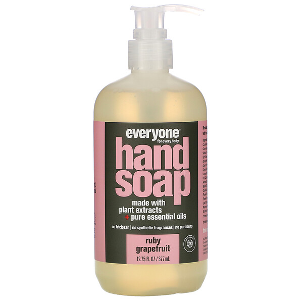 Everyone, Hand Soap, Ruby Grapefruit, 12.75 fl oz (377 ml) (Discontinued Item)