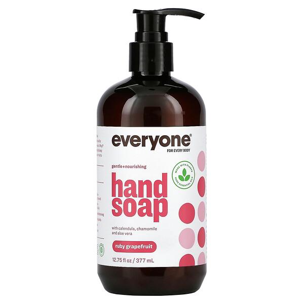 Hand Soap, Ruby Grapefruit, 12.75 fl oz (377 ml)