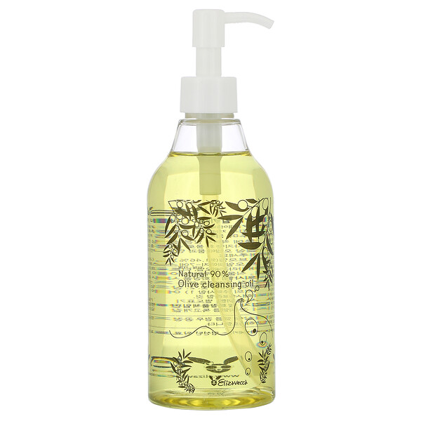 Elizavecca, Milky-Wear, Natural 90 % Oilve Cleansing Oil, 10.14 fl oz (300 ml)