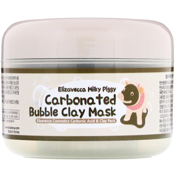 Elizavecca, Milky Piggy Carbonated Bubble Clay Beauty Mask, 100 g