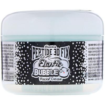 Купить Elizavecca Пептидный корректирующий эластичный пузырьковый 3D-крем для лица, 3, 53 унции (100 г)