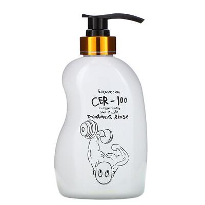 Купить Elizavecca CER-100 Collagen Coating Hair Muscle Treatment Rinse, 16.9 fl oz (500 ml)