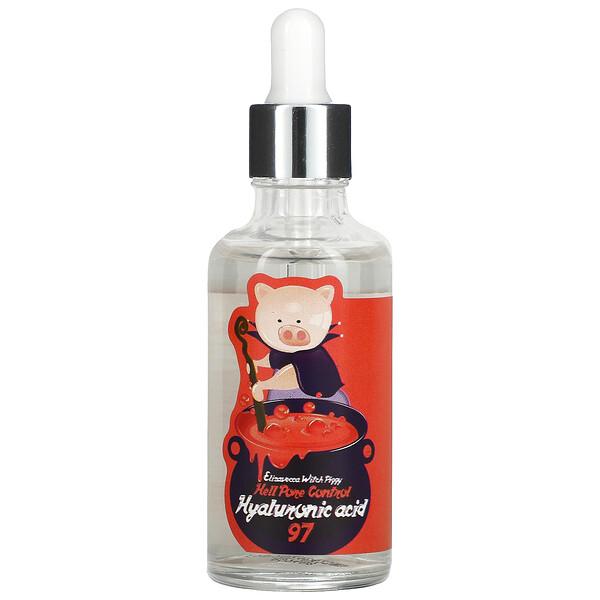 WitchPiggyHellPoreControl, средство для пор с 97% гиалуроновой кислоты, 50мл (1,69жидк. унции)