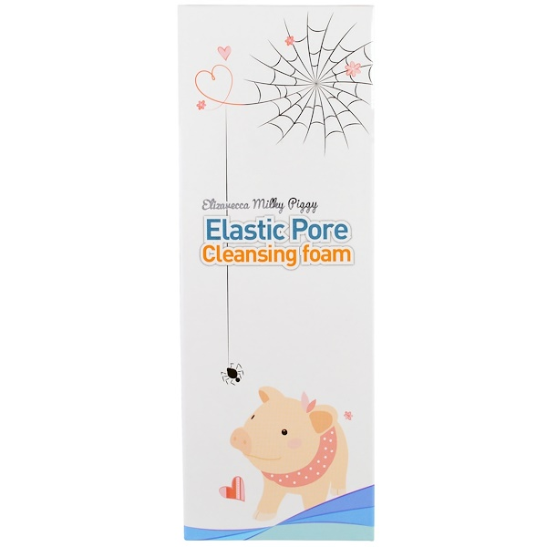 Elizavecca, Elastic Pore Cleansing Foam, 120 ml