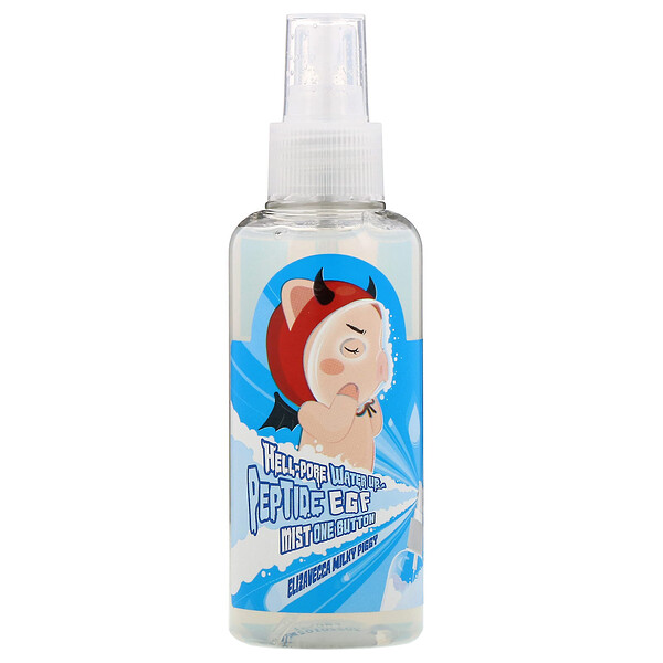 Elizavecca, Milky Piggy, Hell-Pore, Water Up Peptide EGF Mist One Button, 5.07 fl oz (150 ml)