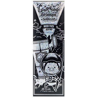 Elizavecca Hell-Pore Longolongo Gronique Diamond Mask Pack, 3.38 fl oz (100 ml)