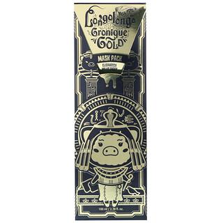 Elizavecca, Hell-Pore Longolongo Gronique Gold Mask Pack, 3.38 fl oz (100 ml)