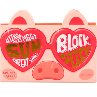Elizavecca, Milky Piggy, Sun Great Block Stick, SPF 50+, PA+++, 0.78 oz (22 g)