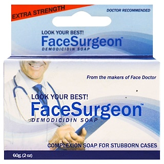 Face Doctor, Face Surgeon, Medicated Soap, 2 oz (60 g)