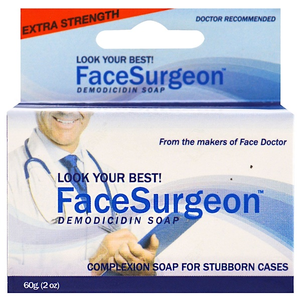 Face Doctor, Face Surgeon, Medicated Soap, 2 oz (60 g) (Discontinued Item)