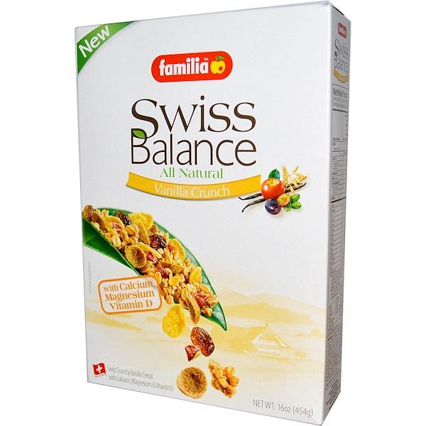 Familia, Swiss Balance Cereal, Vanilla Crunch, 16 oz (454 g) (Discontinued Item)