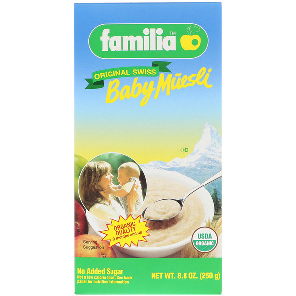 Familia, Baby Muesli, Original Swiss, 8.8 oz (250 g) (Discontinued Item)