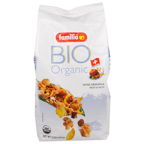 Bio Organic, Swiss Granola Fruit & Nuts, 13 oz (369 g)