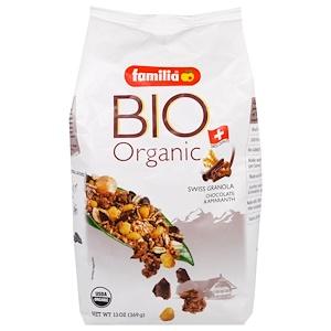 Фамилия, Bio Organic, Swiss Granola, Chocolate & Amaranth, 13 oz (369 g) отзывы покупателей