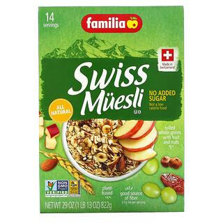 Familia, Swiss Muesli, No Added Sugar, 29 oz (822 g)