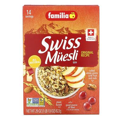 Купить Familia Swiss Muesli, Original Recipe, 29 oz (822 g)