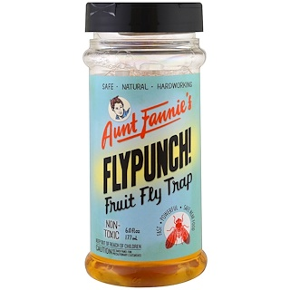 Aunt Fannie's, FlyPunch! Fruit Fly Trap, 6 fl oz (177 ml)