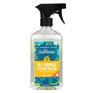 Aunt Fannie's, All Purpose Cleaning Vinegar, Sweet Mandarin, 16.9 fl oz (500 ml)