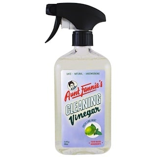 Aunt Fannie's, Cleaning Vinegar, Fresh Lime Mint, 16.9 fl oz (500 ml)