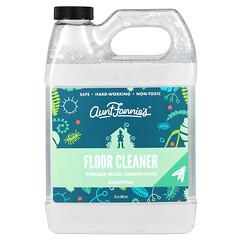 Aunt Fannie's, 地板清潔劑,醋洗濃縮液,桉樹味,32 盎司(946 毫升)
