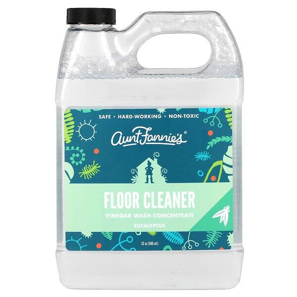 Floor Cleaner, Vinegar Wash Concentrate, Eucalyptus, 32 oz (946 ml)