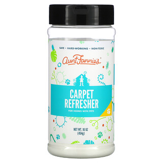 Aunt Fannie's, Carpet Refresher, For Homes with Pets, Fresh Citrus, 16 oz (454 g)