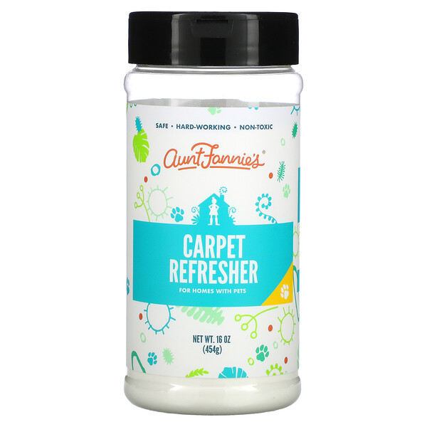 Carpet Refresher, For Homes with Pets, Fresh Citrus, 16 oz (454 g)