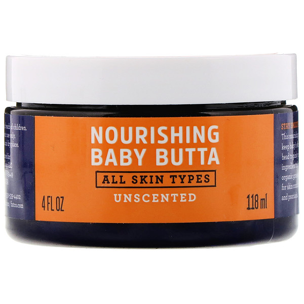 Nourishing Baby Butta, Unscented, 4 fl oz (118 ml)