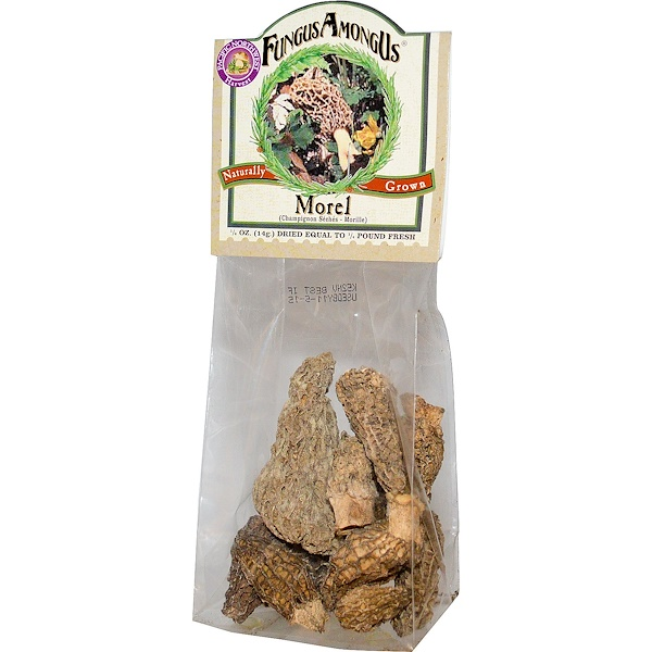 FungusAmongUs, Morel, 1/2 oz (14 g) (Discontinued Item)