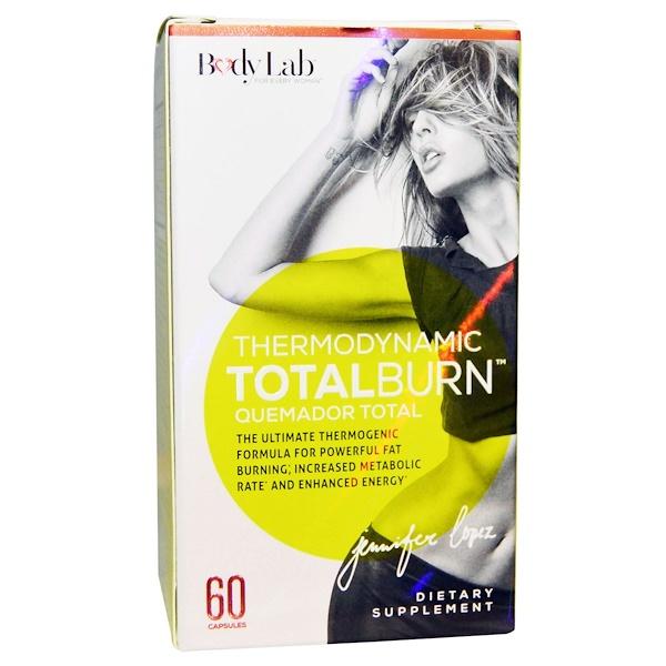 BodyLab, Thermodynamic Total Burn, 60 Capsules
