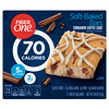 Fiber One, Soft-Baked Bars, Cinnamon Coffee Cake, 6 Bars, 0.89 oz (25 g) Each