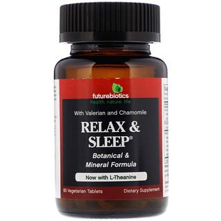 FutureBiotics, Relax & Sleep, 60 Vegetarian Tablets