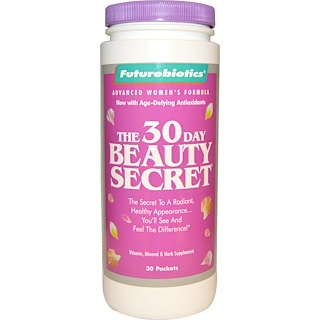 FutureBiotics, The 30 Day Beauty Secret, 30 Packets