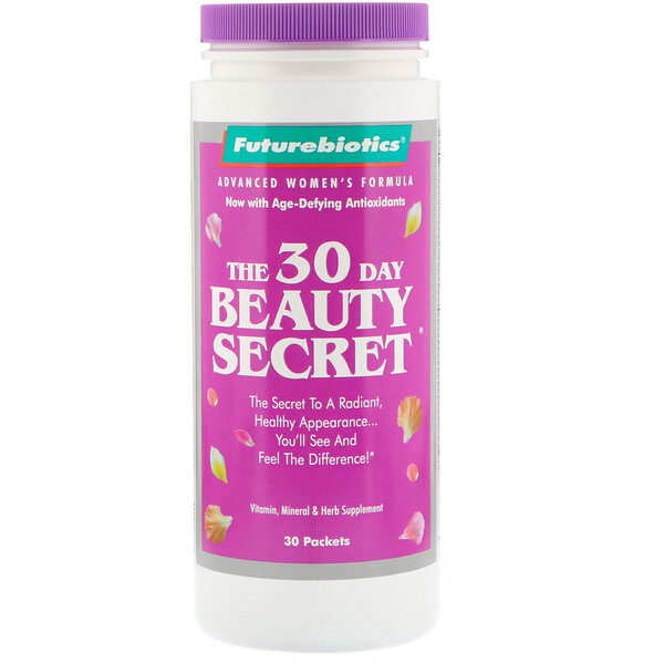 The 30 Day Beauty Secret, 30 Packets