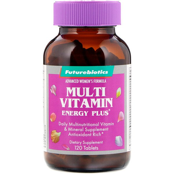 Advanced Woman's Formula, Multi Vitamin Energy Plus, 120 Tablets