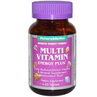 FutureBiotics, Multi Vitamin Energy Plus for Women, 60 Tablets
