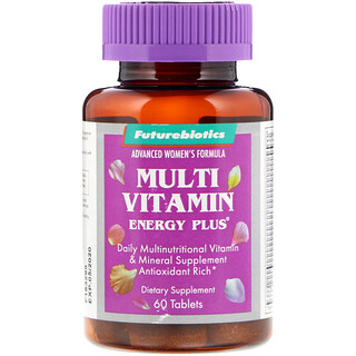 FutureBiotics, Advanced Women's Formula, Multi Vitamin Energy Plus, 60 Tablets