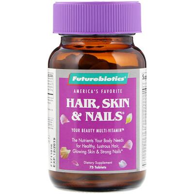 FutureBiotics Волосы, кожа и ногти, 75 таблеток