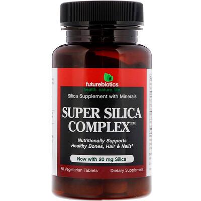 Super Silica Complex, 60 Vegetarian Tablets super silica plus 60 tablets