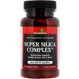 Фьючербайотикс, Super Silica Complex, 60 Vegetarian Tablets отзывы