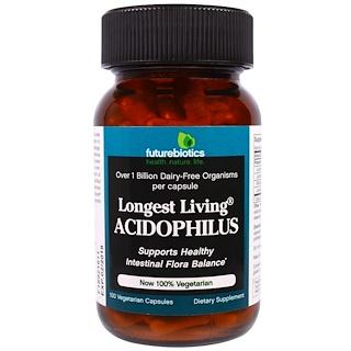 FutureBiotics, Langlebigster Acidophilus, 100 vegetarische Kapseln