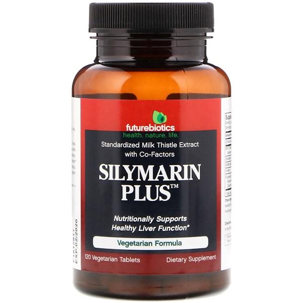 FutureBiotics, Silymarin Plus, 120 Vegetarian Tablets