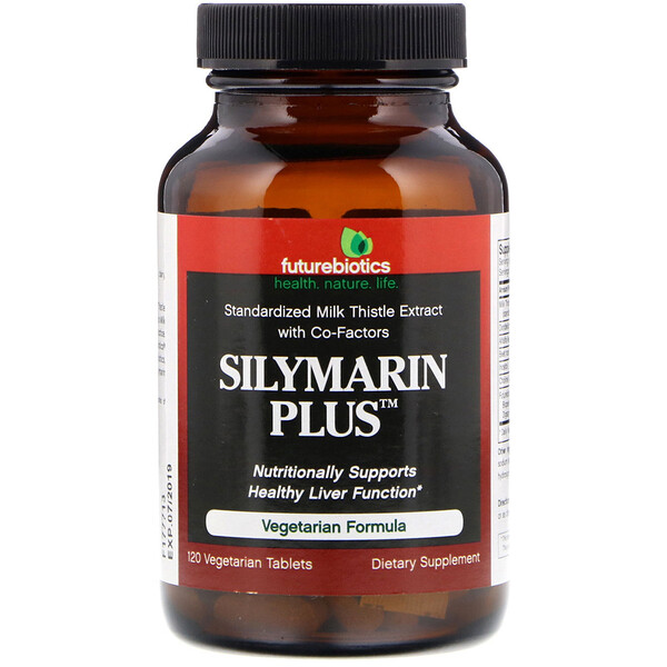 FutureBiotics, Silymarin Plus, 120 Vegetarian Tablets
