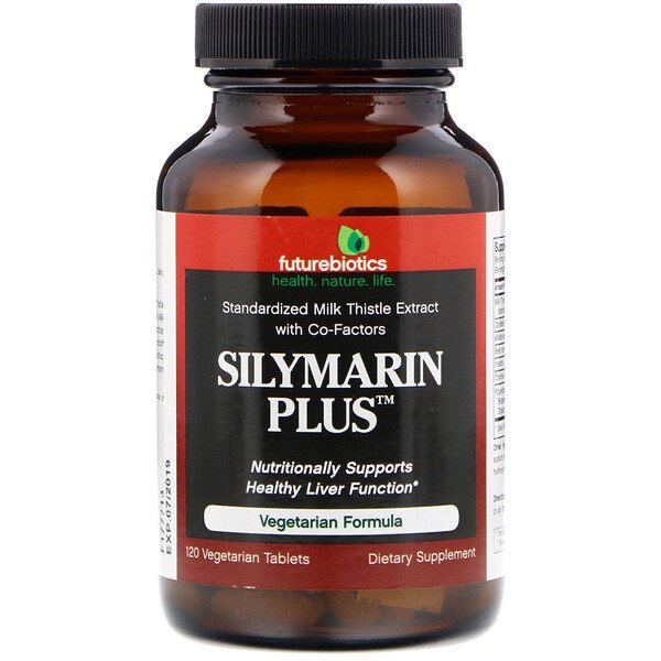 Silymarin Plus, 120 Vegetarian Tablets