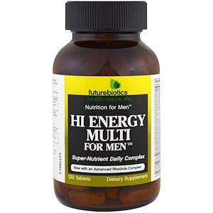 FutureBiotics, Hi Energy Multi for Men, 120 Tablets