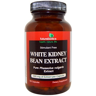 FutureBiotics, White Kidney Bean Extract, 100 Capsules