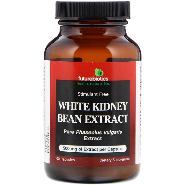 White Kidney Bean Extract, 100 Capsules